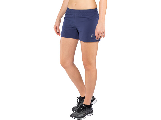 "asics Silver 4"" Shorts Women indigo blue"